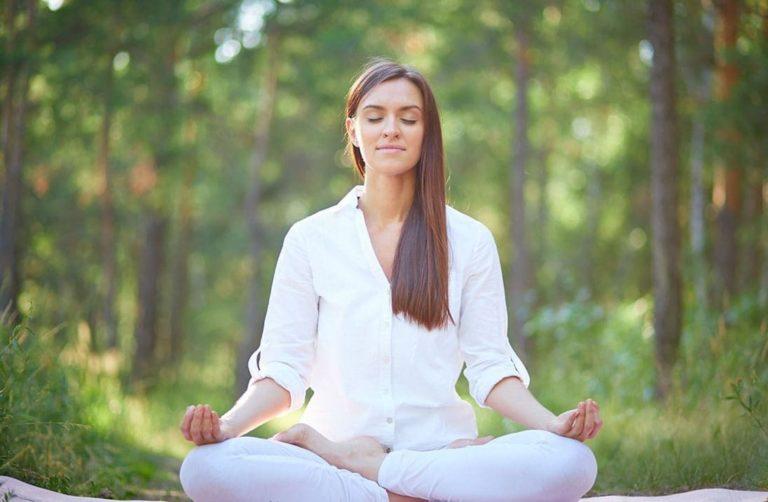 Área de Yoga al aire libre